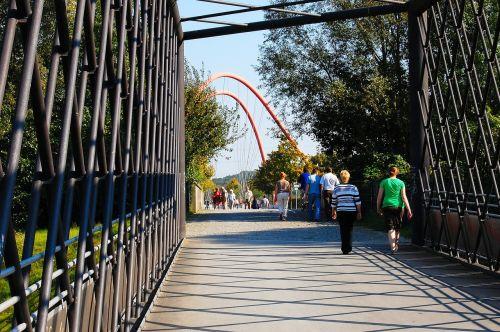 nordsternpark bridge gelsenkirchen