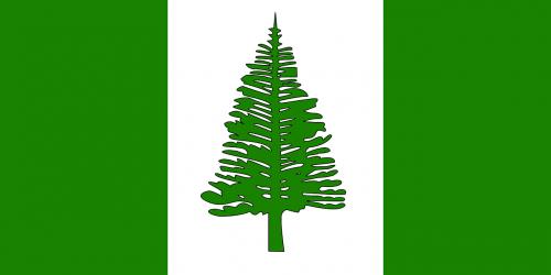 norfolk island flag territory