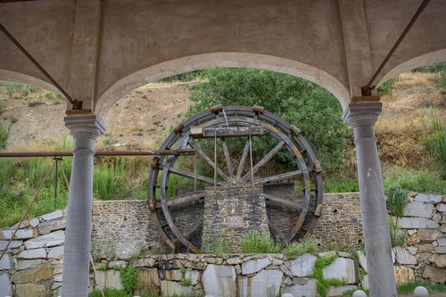 noria  water  wheel