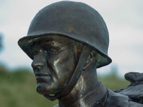 normandy soldier helmet