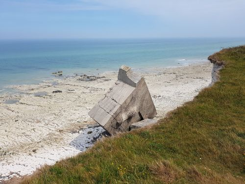 normandy coast beach