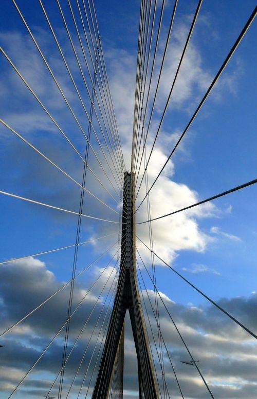 normandy bridge seine architecture