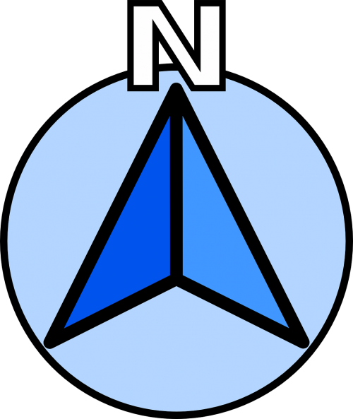 north compass direction