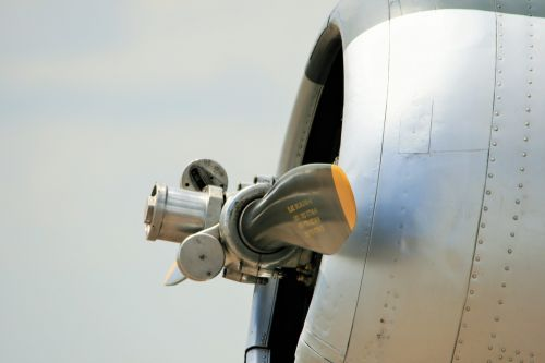 North American T-6 Texan Engine Cow