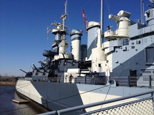 north carolina navy ship