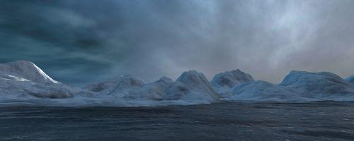 north pole sea ice