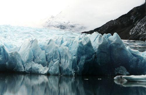 north pole glacier ice