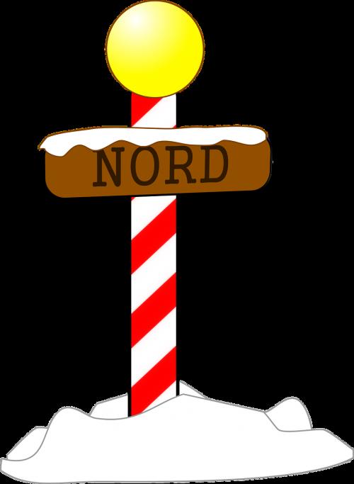 north pole arctic christmas