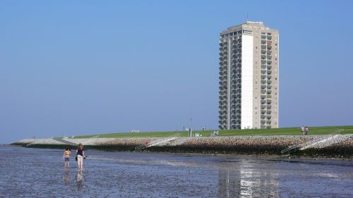 north sea beach germany
