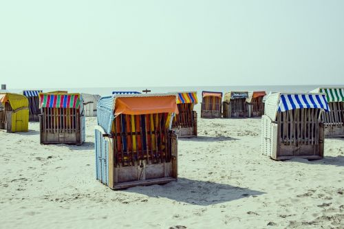 Šiaurės jūra,paplūdimys,klubai,papludimys,vėjo apsauga,smėlis,smėlio paplūdimys mėlynas,dangus,kelionė,šventė,jūra,vasara