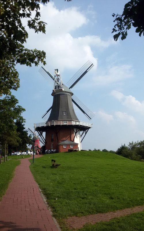 north sea greetsiel windmill