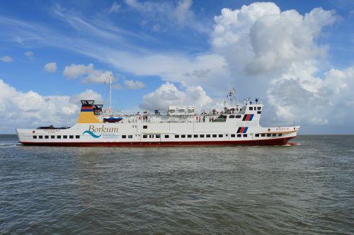 north sea borkum ferry