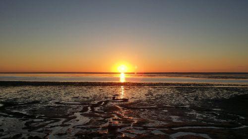 north sea sunset watts
