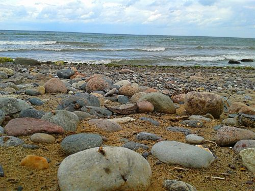 north sea stones sea