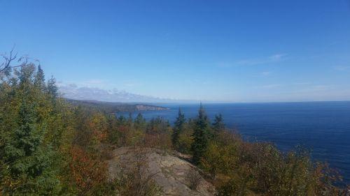 north shore minnesota lake superior fall