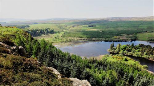 north third cliffs north third reservoir scotland
