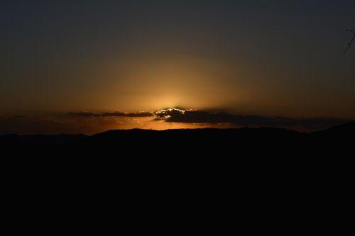 northeast dry sunset