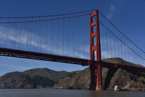 Northern End Golden Gate Bridge