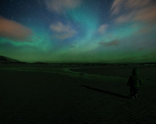 northern lights aurora isle of mull