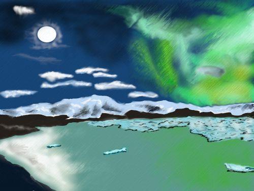 northern lights aurora solar wind