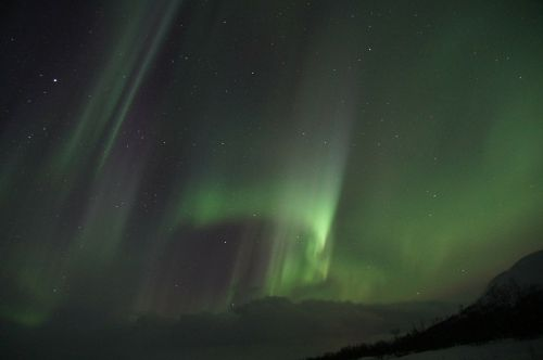 northern lights sweden lapland