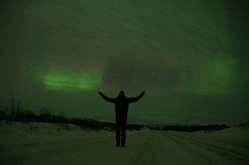northern lights sweden lapland