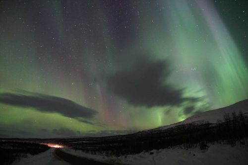 northern lights aurora borealis solar wind