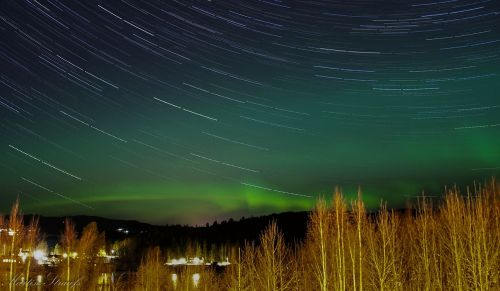 northern lights time lapse aurora borealis