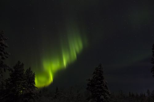 northern lights finland lapland