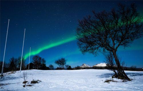 northern lights sky three