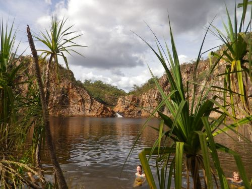 northern territory n t springs swimming hole