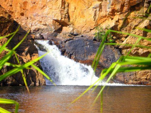 northern territory water fall swimming hole