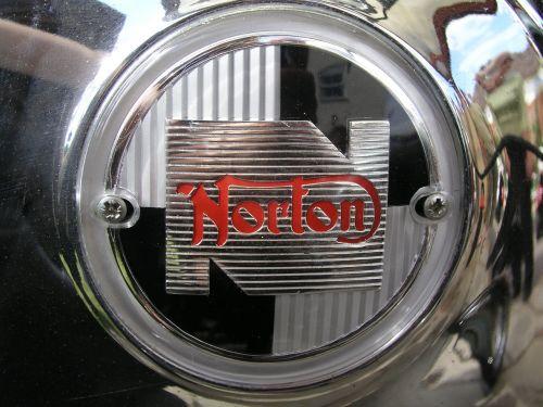 norton bike badge