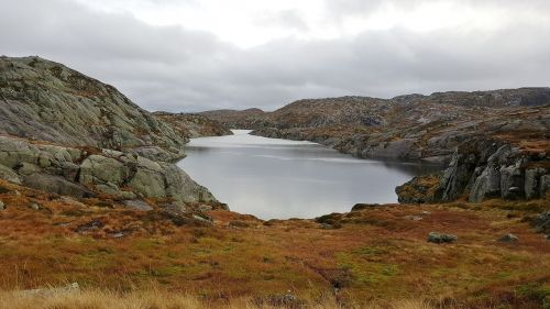 norway lake scenic