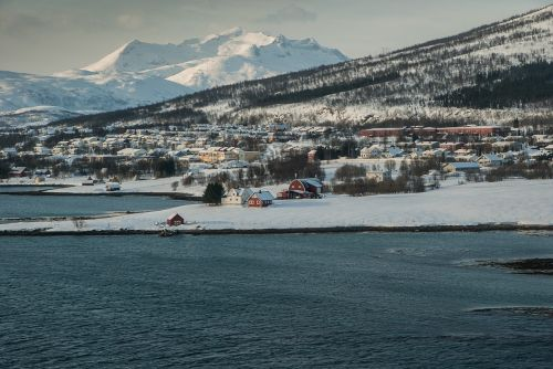 norway tromso fjord