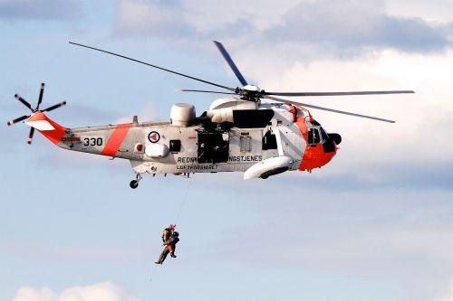 norway pilot rescue