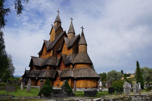 norway 2015 stave church heddal gigantic