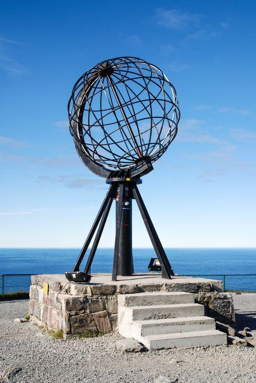 norway globe north cape