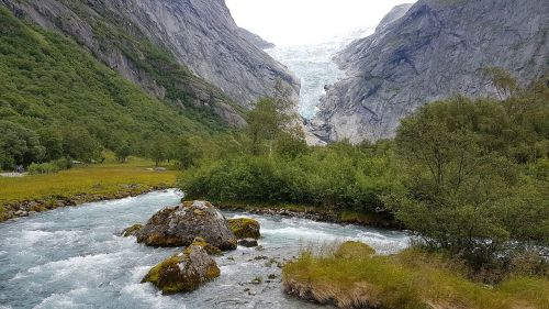norway glacier glacier melt
