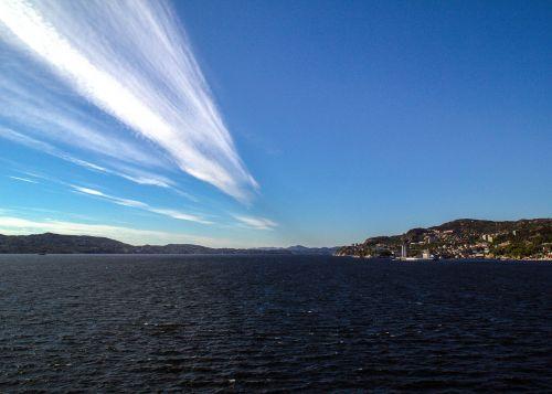 norway bergen sea