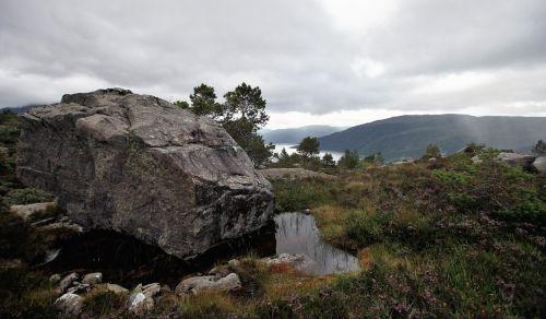 norway fjord mountain