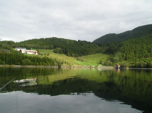 norway fjord sea