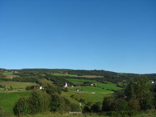 norway landscape trøndelag
