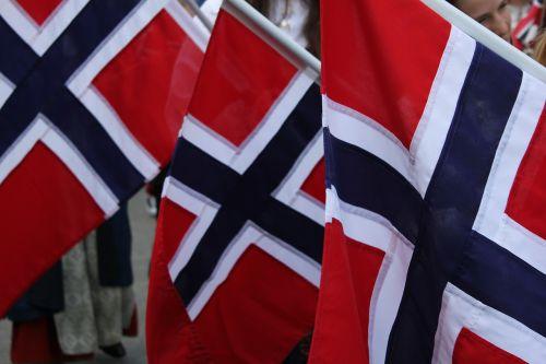norway norwegian flags