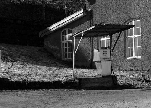 norway gasoline pump
