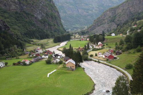 norway fjord village