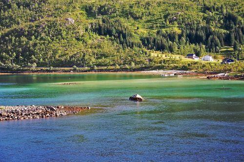 norway fjord water