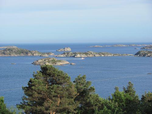 norway-south sharp coast north sea