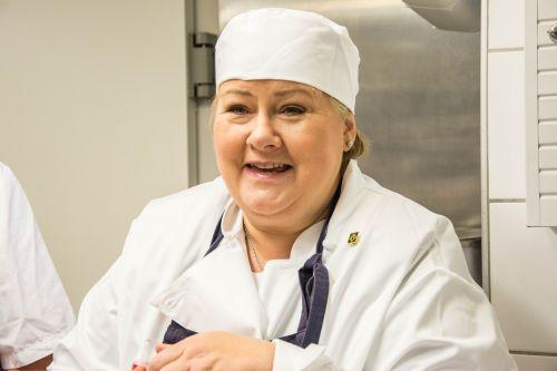 norwegian prime minister baking