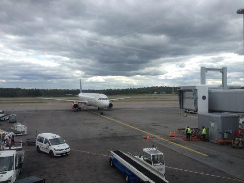 Norwegian Arriving At Helsinki
